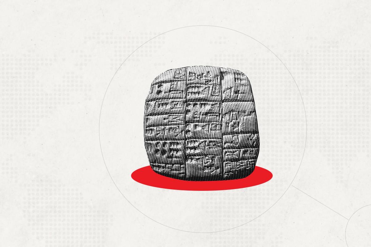 THiNKNET Design Studio วิวัฒนาการการสื่อสาร Cueniform inscription สัญลักษณ์รูปลิ่ม